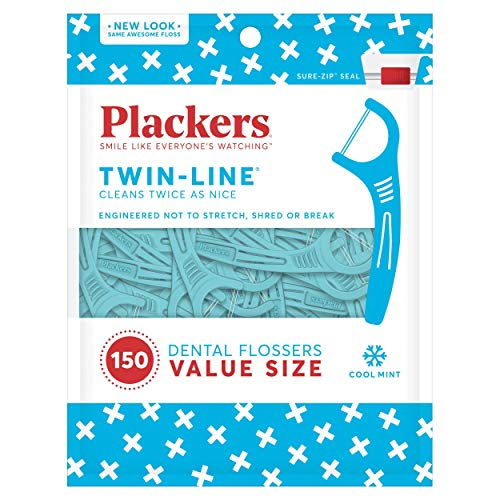 (Plackers Twin-Line Dental Flossers)