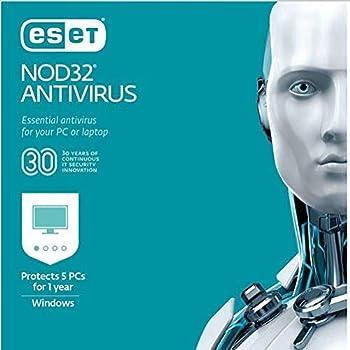 ESET NOD32 Antivirus 2019 5 PCs (Product Key Card)