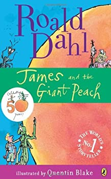 James and the Giant Peach 0142410365 Book Cover
