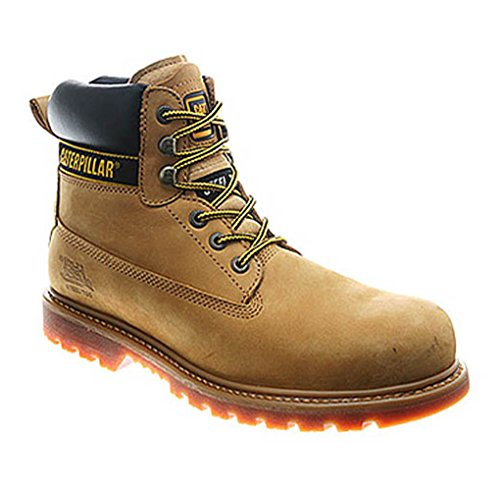 - Caterpillar Men's Holton St EH SR Work Boots Tan 8.5 M