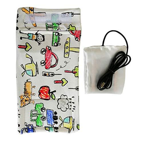 Makalon 2020 USB Milk Water Warmer Travel Stroller Insulated Bag Baby Nursing Bottle Heater