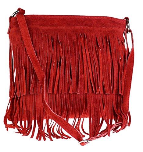 Mujer Bandolera Daniela Rojo Bolso Girly rojo Handbags aqRgSqv