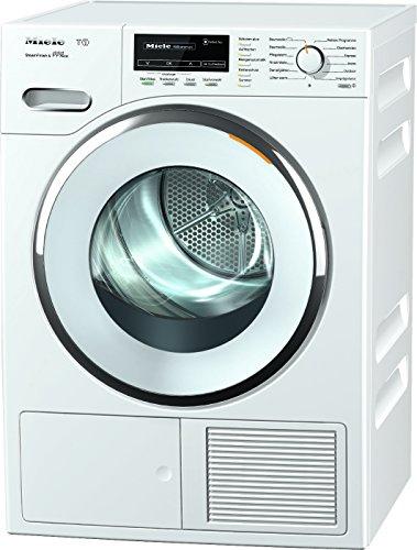 Miele TMG840WP D LW Steam FinishundEco Wärmepumpentrockner / A+++ / 8 kg / Der schnelle Bügelersatz durch Dampfglätten - SteamFinish / weiß