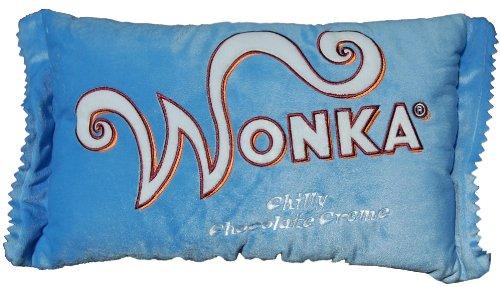 NECA Willy Wonka Blue Chilly Chocolate Creme 20'' x 12'' Plush Pillow by NECA