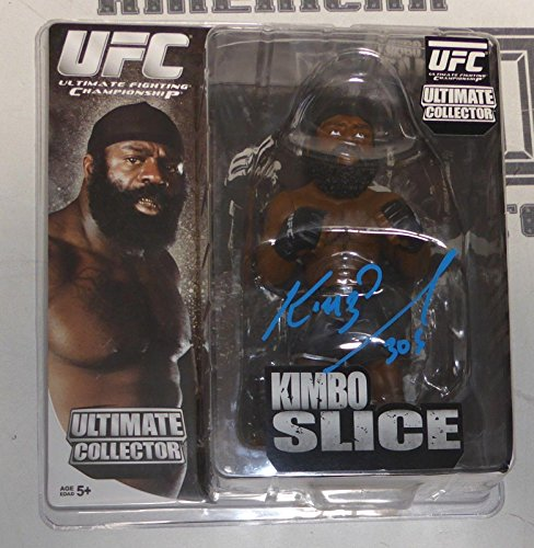 Kimbo Slice Signed UFC Round 5 Action Figure COA Bellator MMA Autograph - PSA/DNA Certified - Unsigned Products (Kimbo Slice Action Figure)