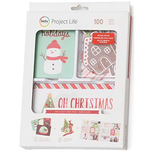 Holly Jolly Holiday Christmas Value Kit Set - 100 pcs - Project - Value Pack Christmas