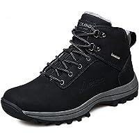 yzhyxs Hombres High parte superior Botas Invierno–Botas de nieve de la buena calidad de piel al aire última intervensión zapatos de senderismo