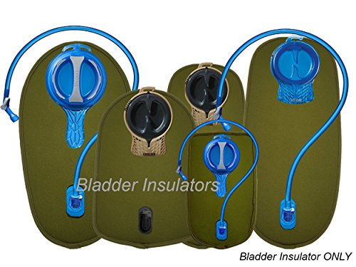 Insulator System Hydration (Bladder Insulators are Compatible with Camelbak Hydration Pack Reservoirs)