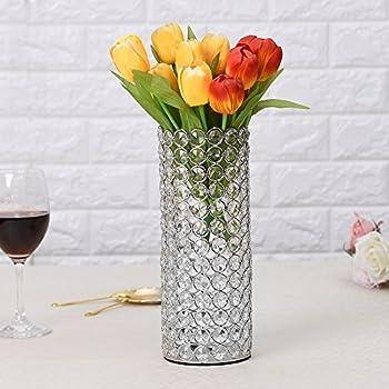 Amazon Vincigant Hollow Design Crystal Cylinder Flower Vase For