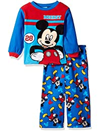Toddler Boys Mickey Mouse 2-Piece Fleece Pajama Set