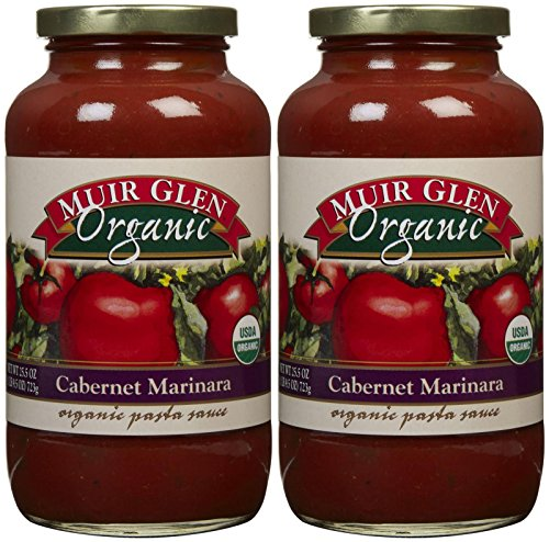 Muir Glen Cabernet Marinara Pasta Sauce, 25.5 oz, 2 pk-25.5 oz ()
