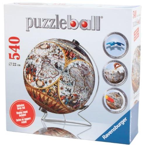 30off ravensburger historical world map puzzleball jigsaw on v 30off ravensburger historical world map puzzleball jigsaw on v stand 540 pieces gumiabroncs Choice Image