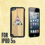 Triangle of Desire Custom made Case/Cover/skin FOR Apple iPod Touch 5 5th Generation- Black - Plastic Case ( Ship From CA)