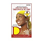 (PACK OF 12) DONNA PREMIUM COLLECTION DELUXE THICK TRIANGLE SCARF #22035 ASSORT