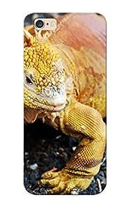 Awesome XUKUftV11882UMEox Crazinesswith Defender Tpu Hard Case Cover For Iphone 6 Plus- Galapagos Land Iguana by supermalls