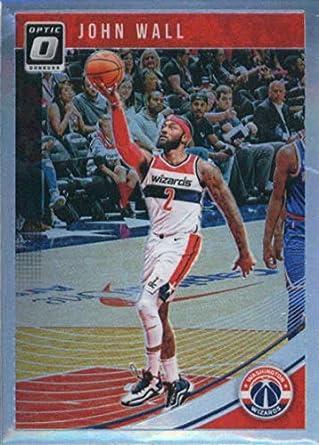 fc5b9b07e75 2018-19 Donruss Optic Holo  103 John Wall Washington Wizards NBA Trading  Card