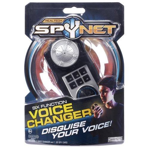 Spy Net Six Function Voice Changer