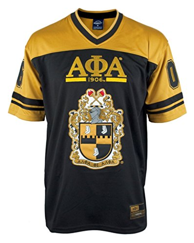 Alpha Phi Alpha Fraternity Football Jersey Manley Deeds Football Jersey 1906