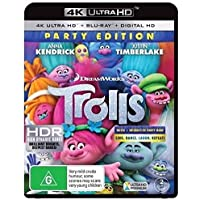 TROLLS - Ultra HD/Blu-Ray - 2 DISC