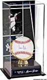 #10: Aaron Judge New York Yankees Autographed Baseball and 2017 Rookie of the Year Sublimated Display Case with Image - Fanatics Authentic Certified
