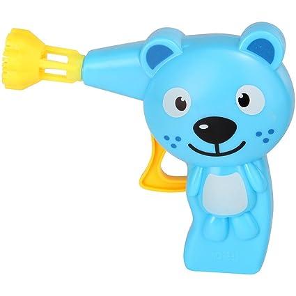 Pustefix - Animales lanza pompas y tubo de 70 ml, juego de pompa de jabón (420869410): Amazon.es: Juguetes y juegos
