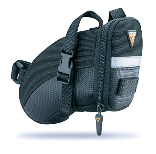Topeak  TC2260B Aero Wedge Pack with Strap Mount, (Cordura Carry Case)