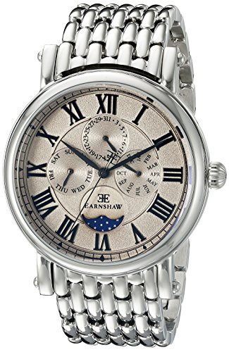 Thomas Earnshaw Men's ES-8031-33 Maskelyne Analog Display Japanese Quartz Silver Watch