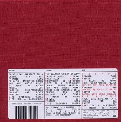 Amnesic : Radiohead: Amazon.es: Música