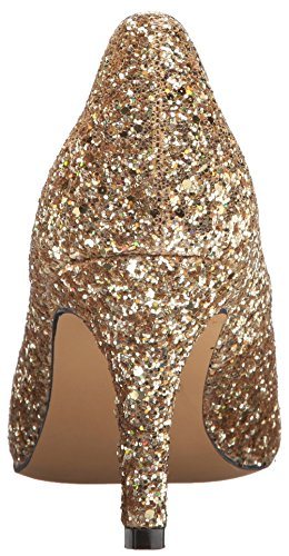 Vestido De Mujer Michael Antonio Finnea-glit Pump Gold