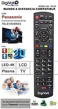 Digivolt Mando Compatible TV Panasonic Pa-35: Amazon.es: Electrónica