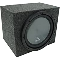 Universal Car Stereo Rearfire Sealed Single 12 Harmony R124 Sub Box Enclosure