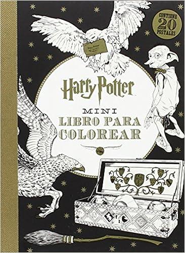 Harry Potter Mini libro para colorear: Amazon.es: Vv.Aa.: Libros