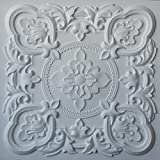 Tin Ceiling panels in faux finishes white matt PL30 pack of 10pcs