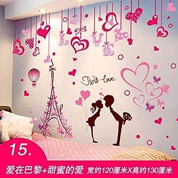 Amazon Com Fefre 3d Wall Decals Bedroom Posters Girls Room