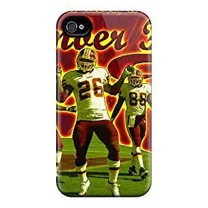 Durable Washington Redskins Back Case/cover For Iphone 4/4s