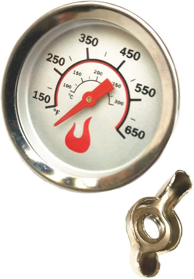 BBQ Grill Thermometer Temperature Gauge Heat Indicator Replacement for