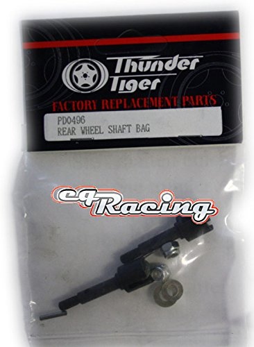 - Thunder Tiger Wheel Axle Rear PD0496 TRS