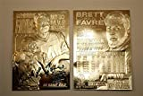 "BRETT FAVRE 1996 SUPER BOWL XXXI ""SIGNATURE SERIES"" 23KT GOLD CARD!"