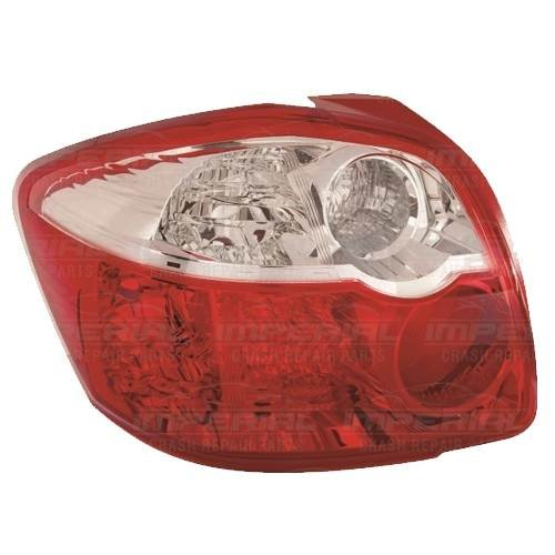Fits To Toyota Auris 2007-8//2010 Rear Tail Light Lamp Farba Type Drivers Side