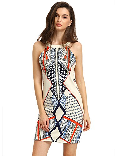 Sleeveless Printed Cut Out - 3