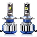 Win Power H4(HB2/9003) LED Hi-lo Beam Headlight CREE Bulbs Conversion Kits + Canbus (1 Pair)-2 Year Warranty