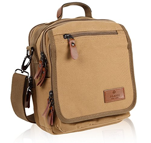 Camel Skin Messenger Bag - 8
