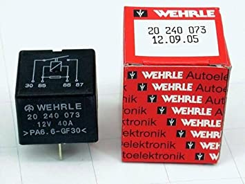 Porsche bomba de combustible Ventilador cuerno Defroster relé Wehrle nuevo: Amazon.es: Coche y moto