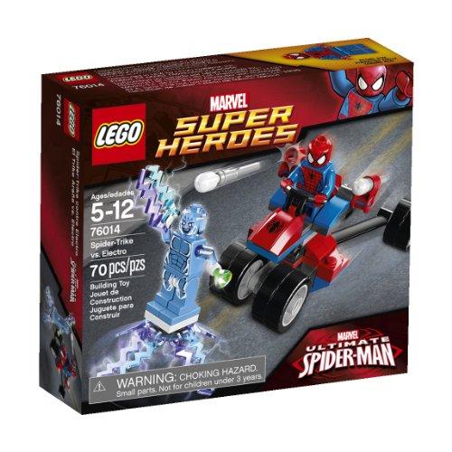 LEGO Superheroes 76014 Spider-Trike vs. Electro (Trike Lego)
