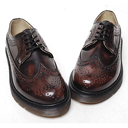 EpicStep Men's Casual Dress Formal Business Wingtip Lace Up Leather Oxfords Loafers Shoes