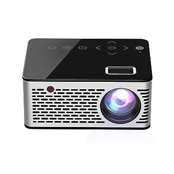 WANGLX ST T200 Mini Portátil Proyector Casa HD para Niños Cine en ...