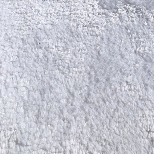 Mohawk Home Cut To Fit Royal Velvet Plush Bath Carpet, White, 6 by 10 Feet by Mohawk Home