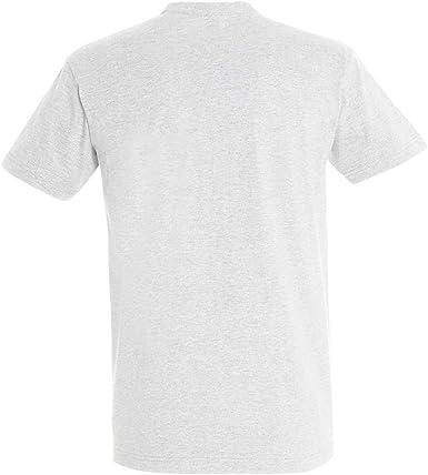 SOLS - Camiseta de manga corta para hombre 100% algodón grueso - Modelo Imperial: Amazon.es: Ropa y accesorios