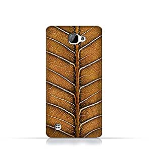 LG X5 TPU Silicone Case With Natural Dried Leaf