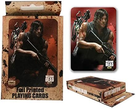 The Walking Dead Playing Cards by JUST FUNKY: Amazon.es: Juguetes y juegos